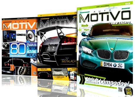 Capas de edições da revista AutoMOTIVO