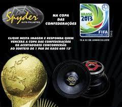 Promoção Spyder na Copa das Confederações vai sortear um kAOS 600 w rms