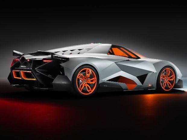 Lamborghini Egoista vista de lado