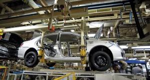 Produção de veículos continua crescendo