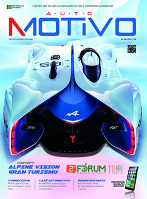 Capa da edição 94 da Revista AutoMOTIVO