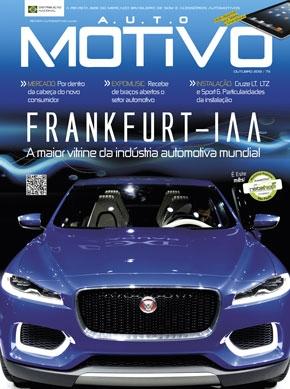 Capa da edição 73 da Revista AutoMOTIVO