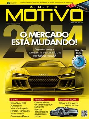 Capa da Edição 75 da Revista AutoMOTIVO