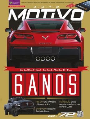 Capa da edição 72 da Revista AutoMOTIVO