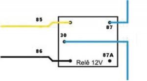 A ligação do relê é simples, mas requer atenção aos detalhes.
