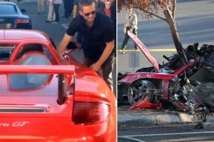 Porsche envolvido no acidente de Paul Walker era raro e supera R  1 ... 46943552f5
