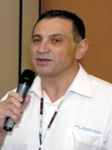 João de Soldi, diretor da Flexitron