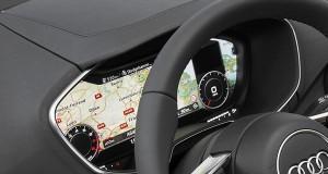 Audi TT é apresentado com painel de LCD no lugar de mostradores analógicos