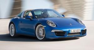 Porsche apresenta o novo 911 Targa no salão de Detroit