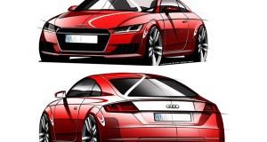 Audi divulga esboço do novo TT