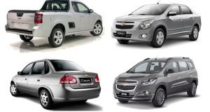 Chevrolet convoca recall de Classic, Cobalt, Montana e Spin