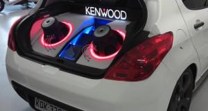 Kenwood equipa carro-show para a Peugeot