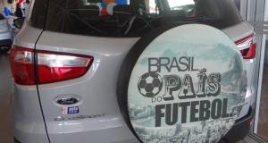 Ford lança linha de capas de estepe para o Ecosport com temas brasileiros