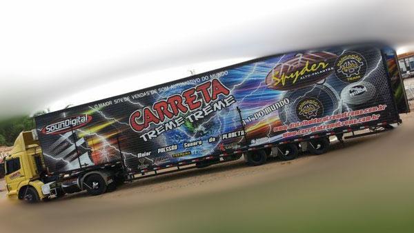 Carreta Treme-Treme está em turnê pelo Ceará