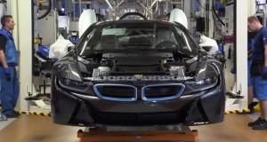 Vídeo mostra como BMW i8 é produzido. Assista!