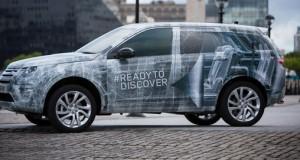 Land Rover Discovery Sport terá espaço para sete passageiros