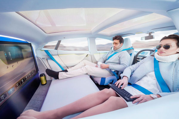 Carros não terão volantes ou pedais em 2023
