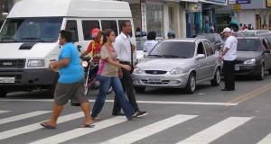 Levantamento mostra que pedestres são as maiores vítimas de acidentes no trânsito