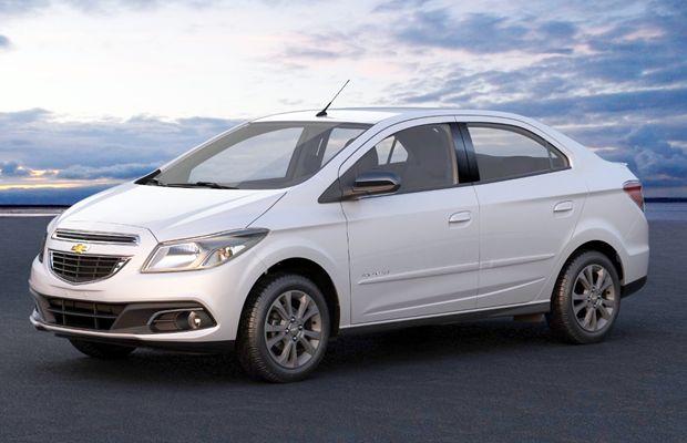 O Chevrolet Prisma com o acabamento da série especial Advantage
