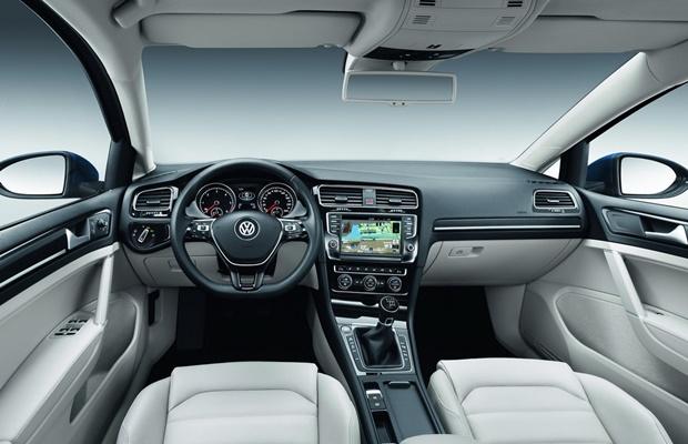 Interior do habitáculo do Volkswagen Jetta