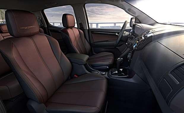 Interior da ick-up Chevrolet S 10 High Country