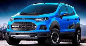 Conheça os show cars da Ford EcoSport expostos no Salão