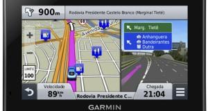Garmin lança o GPS Nuvi 2559, um acessório automotivo avançado
