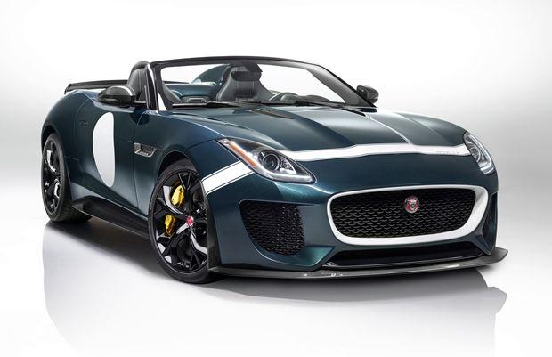O Jaguar Project 7 tem linhas marcantes que remetem a modelos clássicos da marca