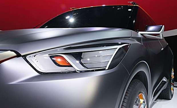 Detalhes do Nissan Kicks Concept