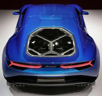 concept car Lamborghini Asterion