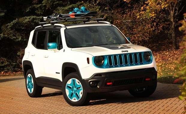 Este Jeep Renegade é uma das atrações preparadas pela Chrysler para o SEMA Show