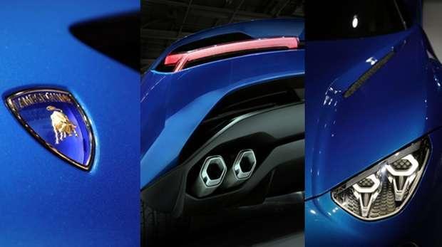Detalhes do concept car Lamborghini Asterion