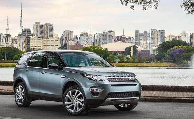 O SUV Land Rover Discovery Sport, primeiro modelo a ser fabricado pela Jaguar Land Rover no Brasil