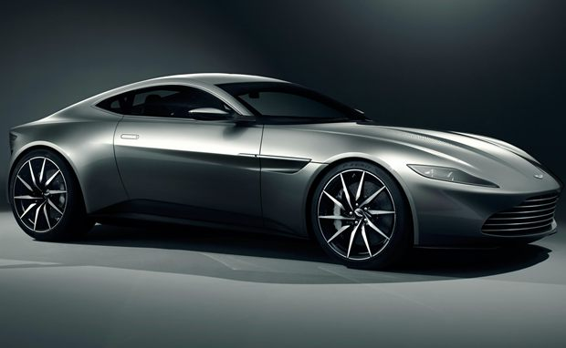 Aston Martin DB10 que será usado por James Bond no filme Spectre