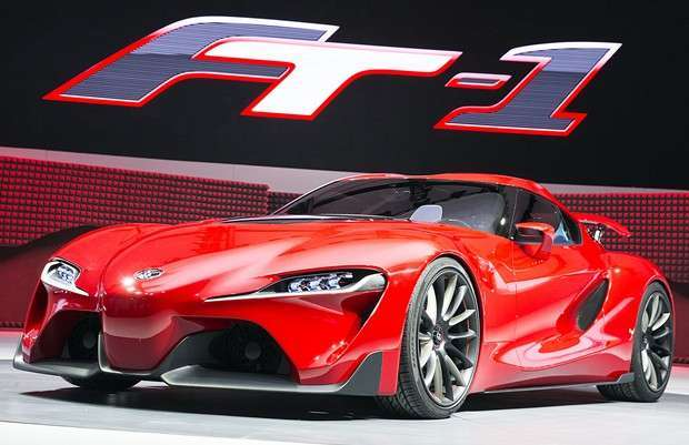 Concept Toyota FT-1