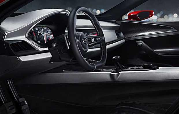 O concept SUV Kia Sportscape - interior