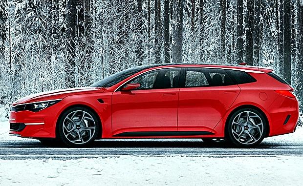 O concept SUV Kia Sportscape - vista lateral