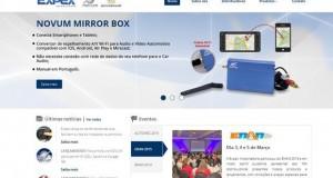 Expex investe em novo website