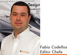 Fabio Codellos, Editor Chefe da revista AutoMOTIVO, especiaklizada em som e acessórios automotivos
