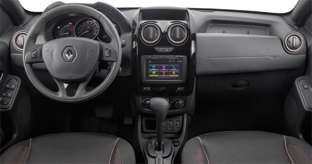 Renault Duster 2016 painel