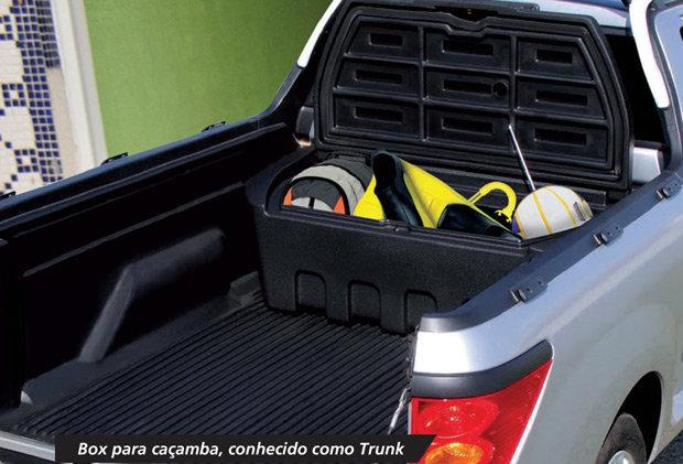 trunk, acessório para pick-up