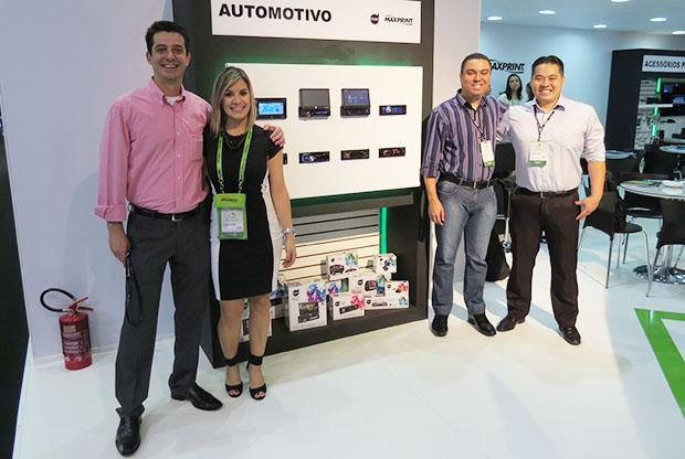 Dazz Maxprint som automotivo na feira Eletrolarshow
