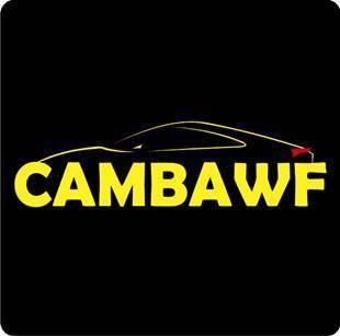logo do cambawf, campeonato de aplicação de window film - acessório automotivo