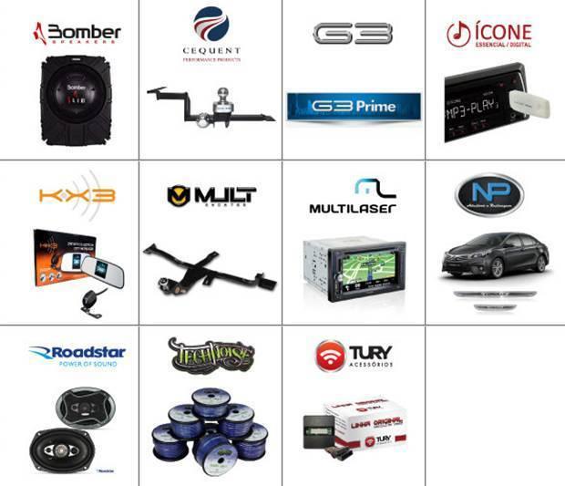 Empresas apoiadoras do 2º Fórum do mercado de Som e Acessórios