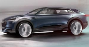 Concept de SUV elétrico é atração da Audi no Salão de Frankfurt