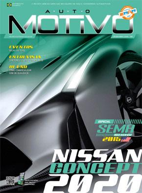 Capa da revista AutoMOTIVO, especializada em som e acessórios automotivos