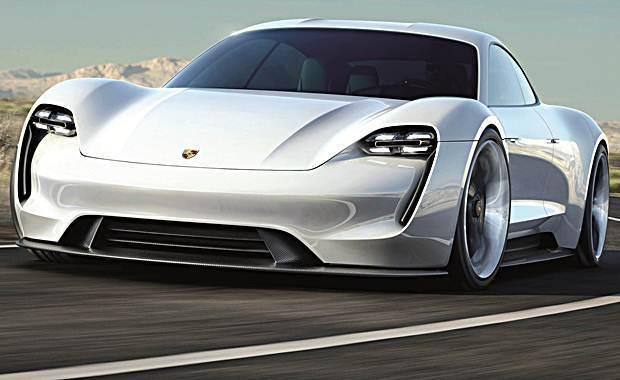 O primeiro carro totalmente elétrico da Porsche já tem nome: Taycan