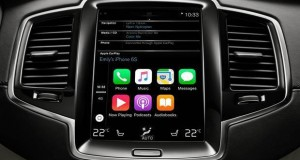 Novo SUV Volvo XC 90 adota o Apple Car PLay