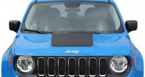 Faixa para capô de Jeep Renegade da NP Adesivos
