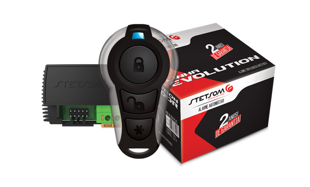 Alarme Evolution Bloqueador Mini Block Plus da Stetsom